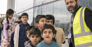 24th December Libyan School visit to Medavia
