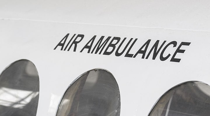 Dedicated Air Ambulance