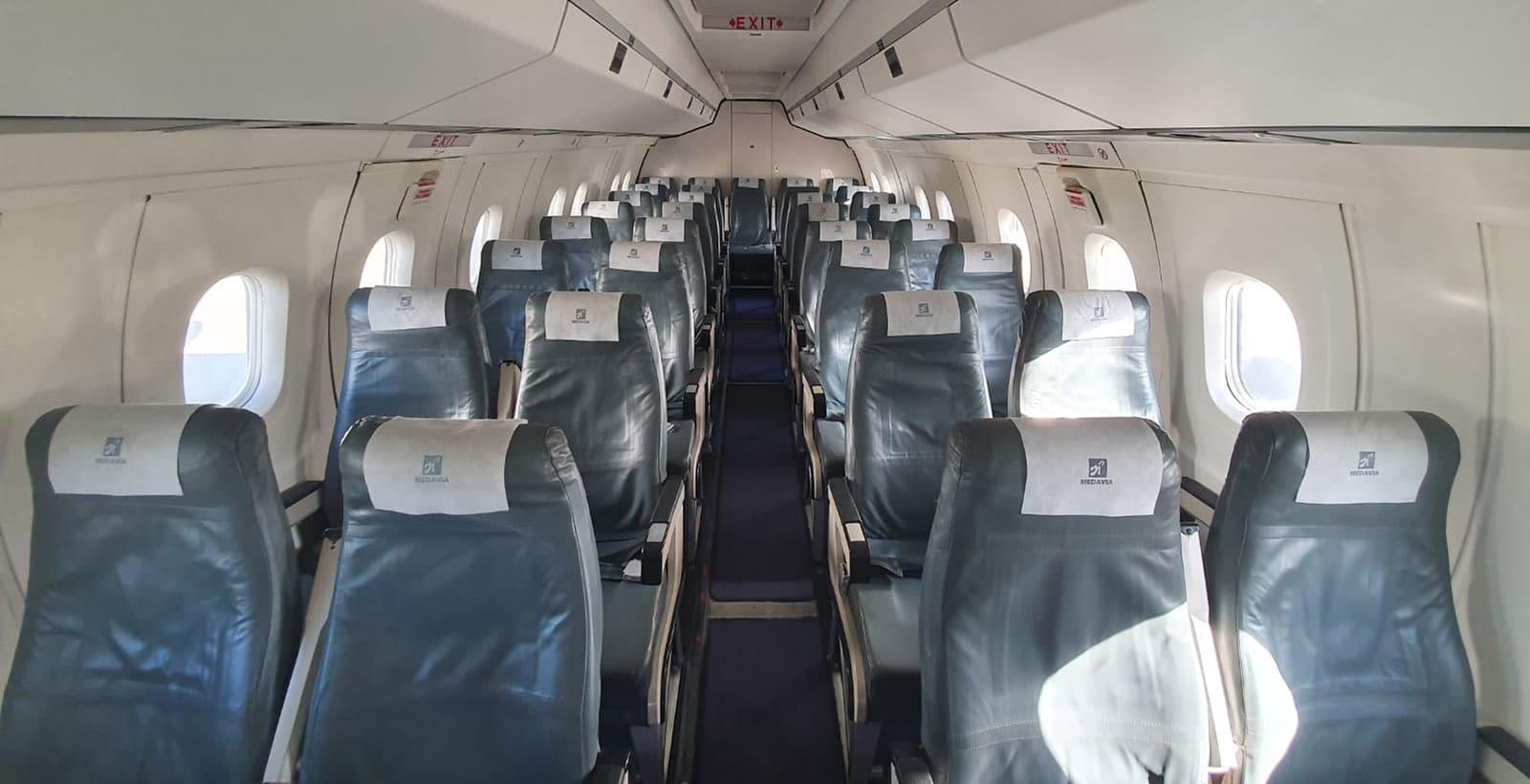 Dash 8 - 100 (Interior)