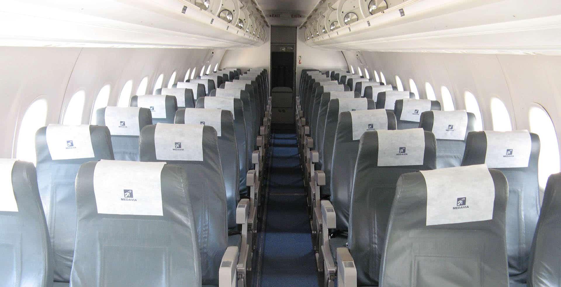Dash 8 - 300 (Interior)